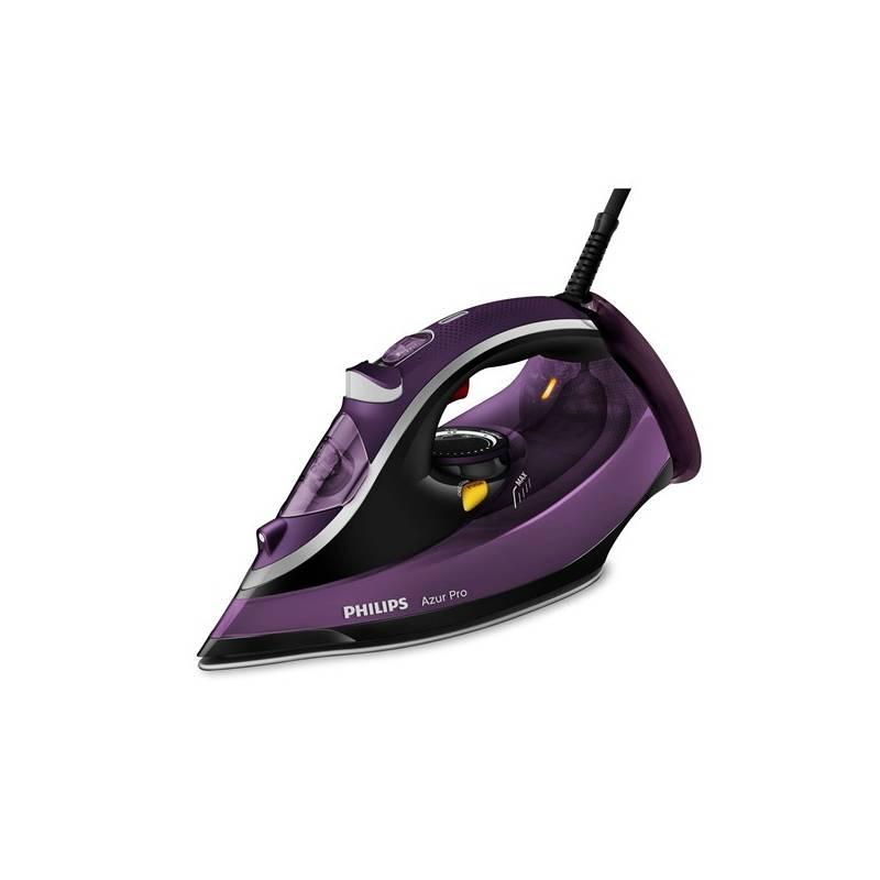 Žehlička Philips Azur Pro GC4885 30 fialová  57045ba0a16