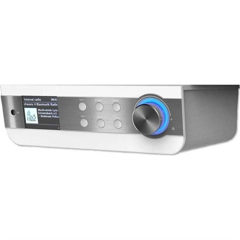 Internetový radiopřijímač Soundmaster IR1450W stříbrný