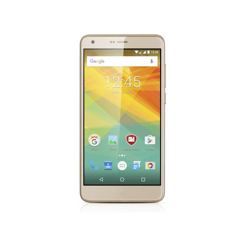 Mobilný telefón Prestigio Grace S7 Dual SIM (PSP7551DUOGOLD) zlatý