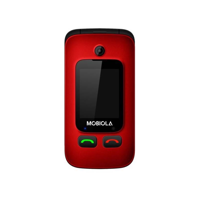 Mobilný telefón Mobiola MB610B (MB610R) červený Software F-Secure SAFE, 3 zařízení / 6 měsíců (zdarma)