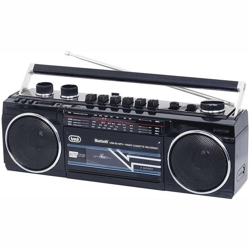 Radiomagnetofon Trevi RR 501 BT černý