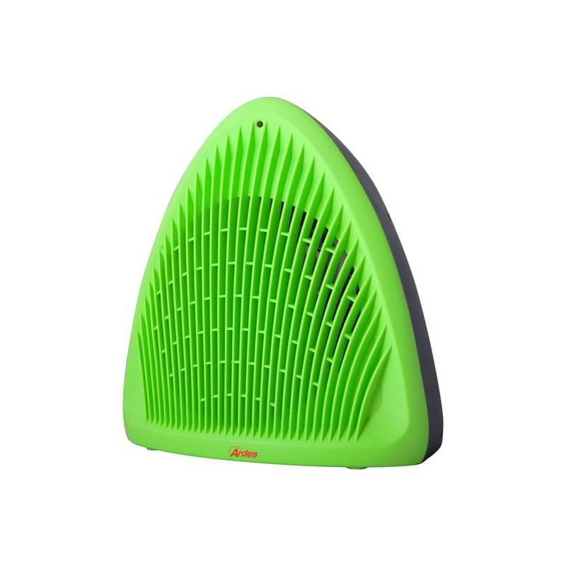 Teplovzdušný ventilátor Ardes 4F01G zelený