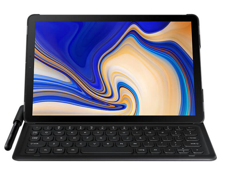 Pouzdro na tablet s klávesnicí Samsung pro Tab S4 (EJ-FT830UBEGWV) černé