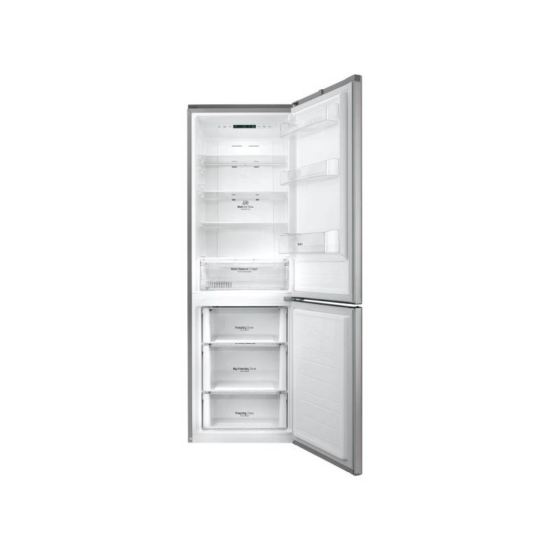 Kombinácia chladničky s mrazničkou LG GBB59PZJZS nerez + Doprava zadarmo