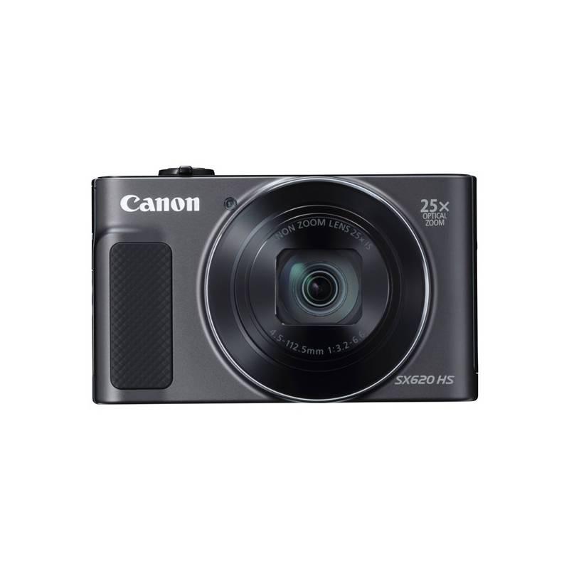 Digitálny fotoaparát Canon PowerShot SX620 HS (1072C002) čierny Pouzdro foto Canon DCC-1500 (zdarma)