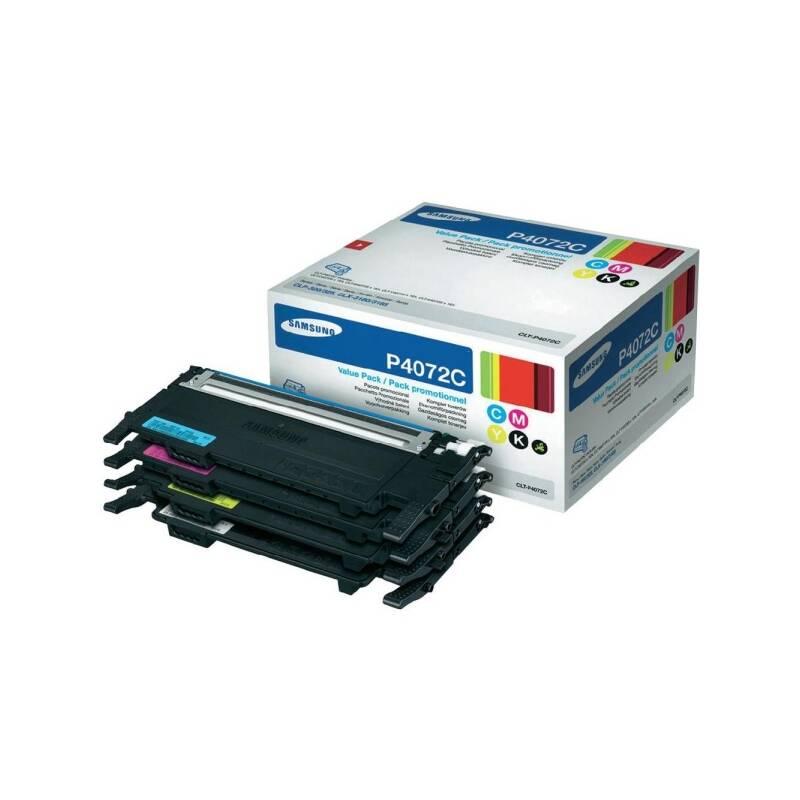 Toner Samsung CLP-320, 1000 stran CMYK (CLT-P4072C/ELS) + Doprava zadarmo