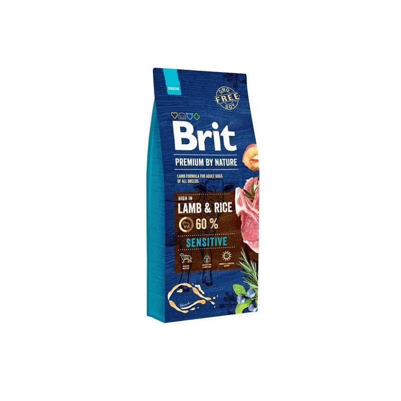 Granule Brit Premium Dog by Nature Sensitive Lamb 15 kg