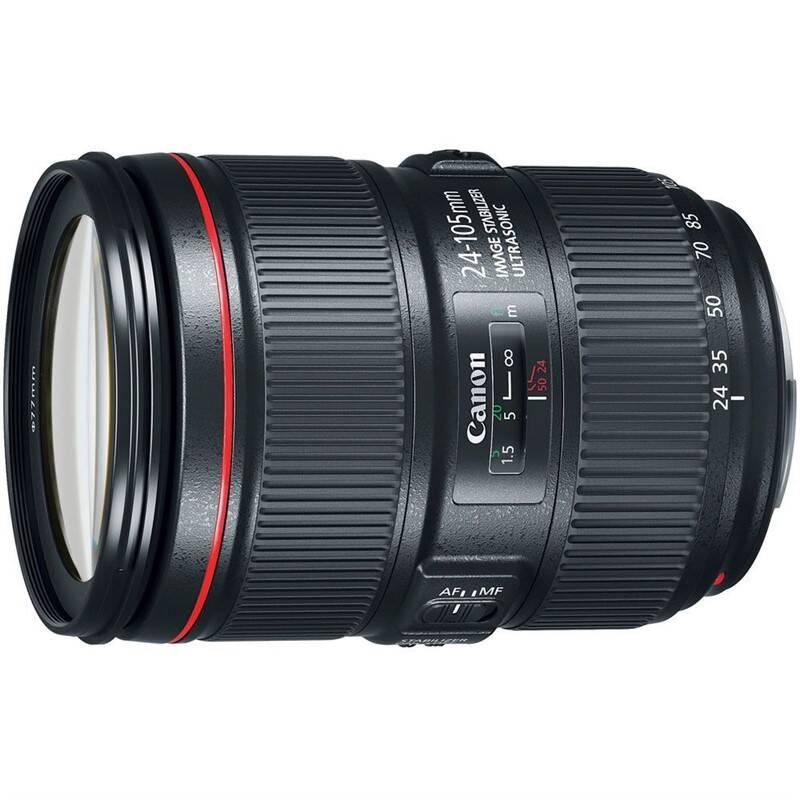 Objektiv Canon EF 24-105mm f/4 L IS II USM - SELEKCE SIP (1380C005) černý