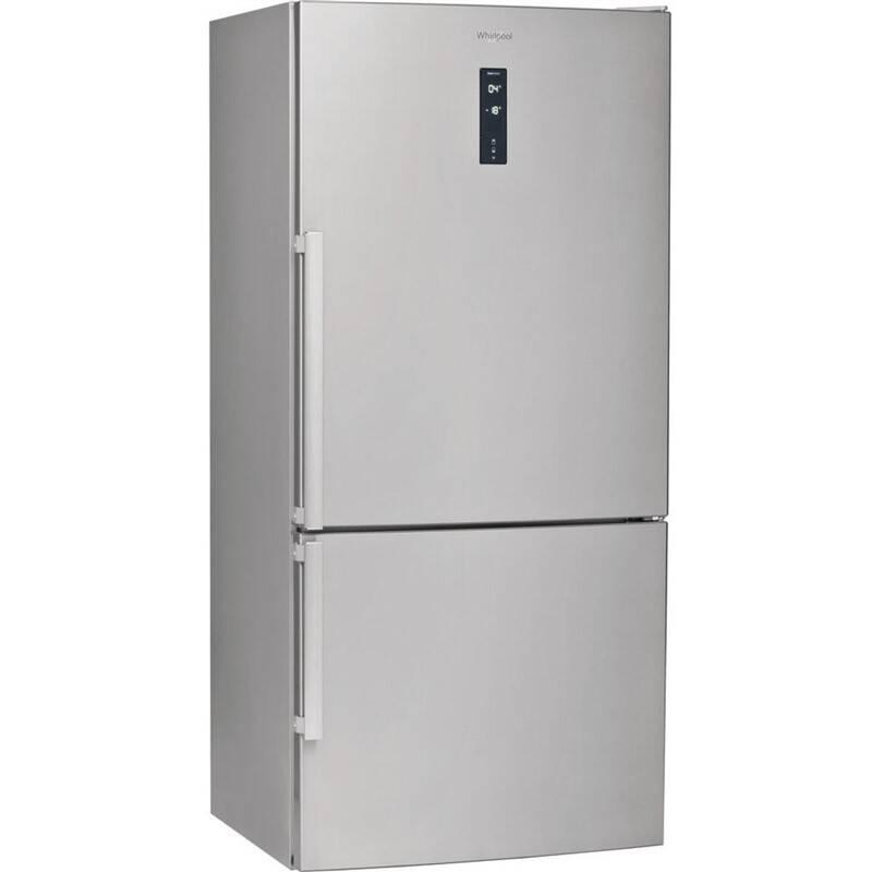 Kombinácia chladničky s mrazničkou Whirlpool W84BE 72 X nerez + Extra zľava 10 % | kód 10HOR2020 + Doprava zadarmo