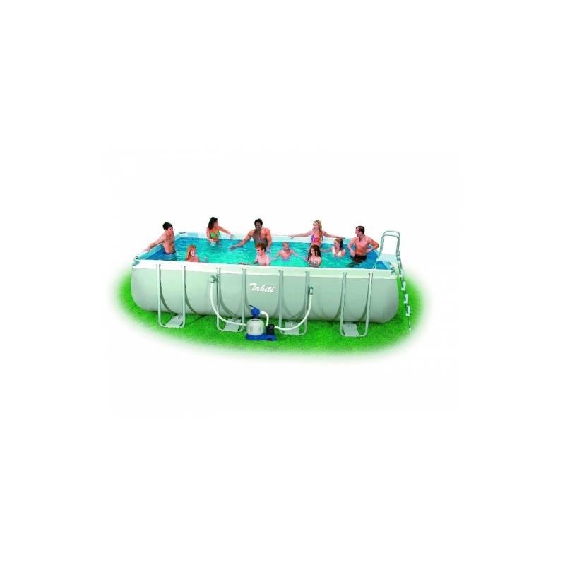 Bazén oválny Marimex Tahiti 2,74 x 5,49 x 1,32 m s pískovou filtrací, 10340050 + Doprava zadarmo