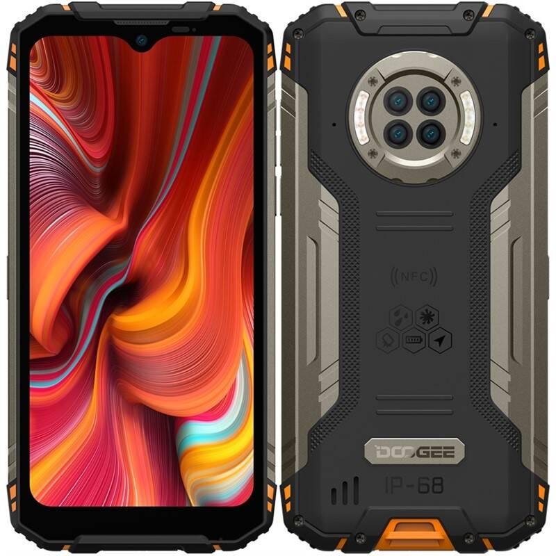 Mobilný telefón Doogee S96 PRO Dual SIM (DGE000592) oranžový