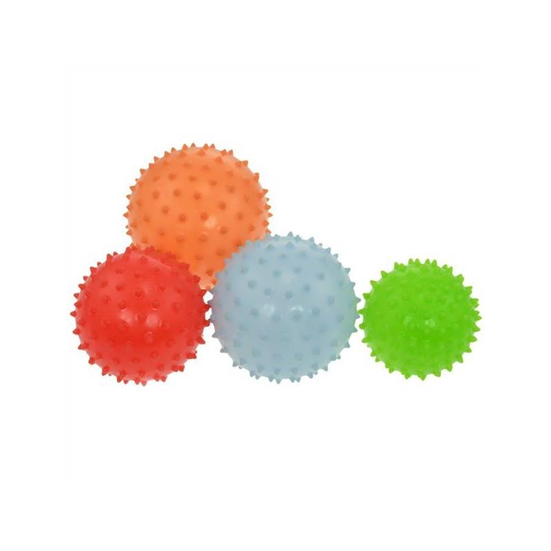 Masážna lopta LIFEFIT 6cm, mix barev + Doprava zadarmo