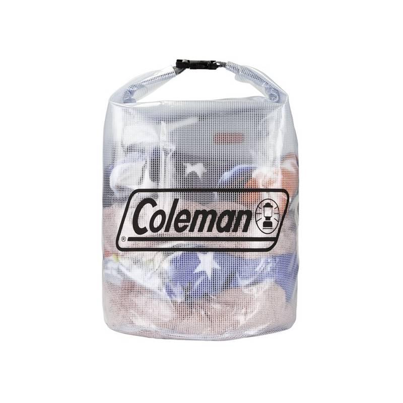 Lodní vak Coleman Dry Gear Bags Medium 35l - průhledná