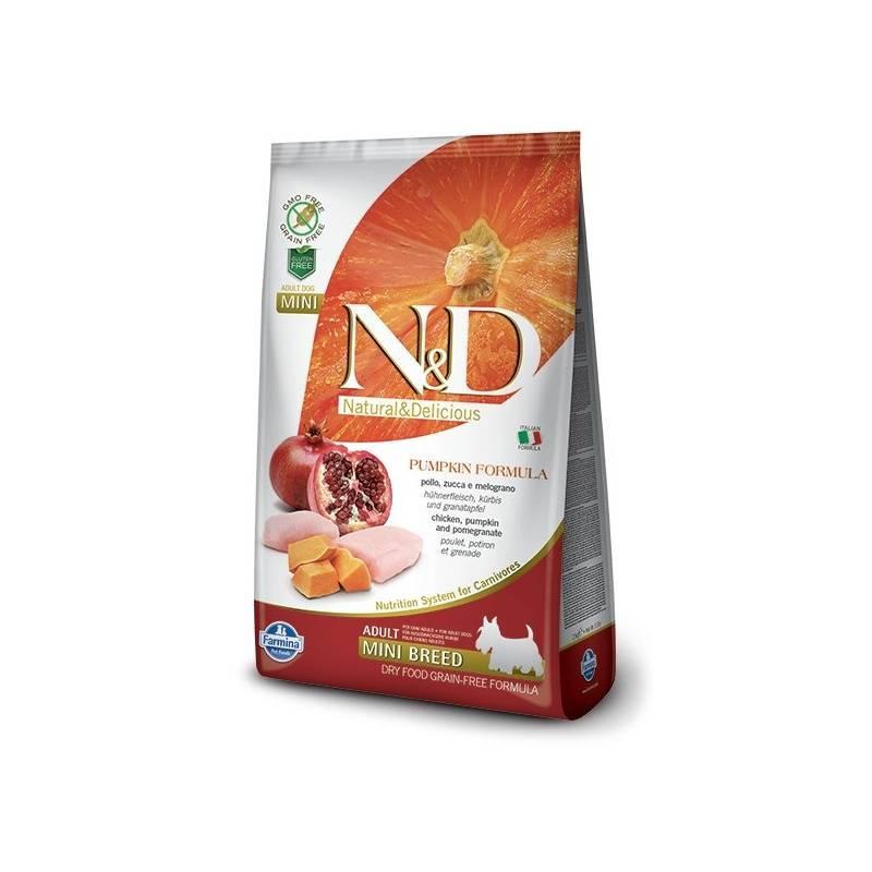 Granuly N&D Grain Free Pumpkin DOG Adult Mini Chicken & Pomegranat 2,5 kg