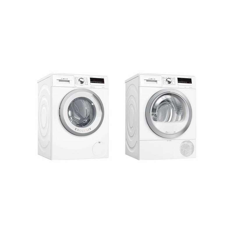 Set výrobků Bosch WAN28290BY + WTR85V90BY