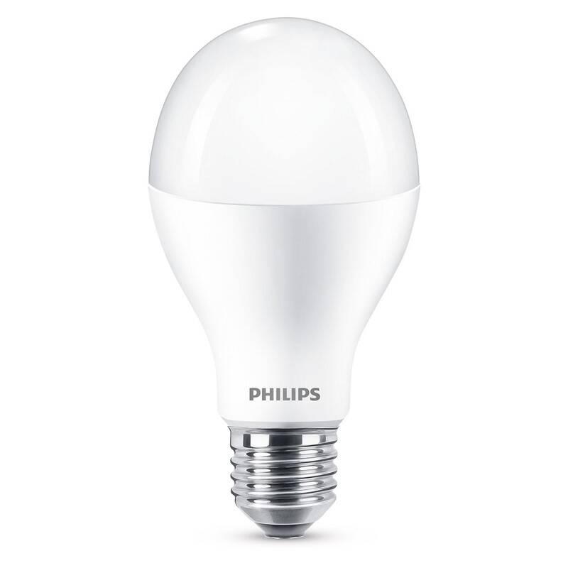 LED žiarovka Philips klasik, 17W, E27, teplá bílá (8718696701614)