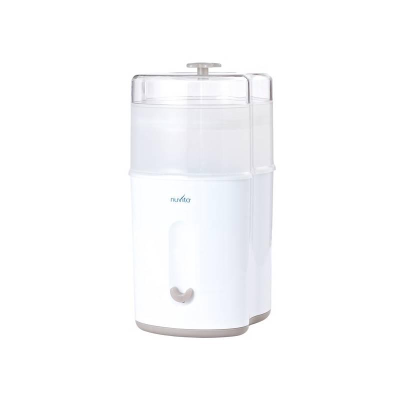 Sterilizátor Nuvita kompaktní biely + Doprava zadarmo