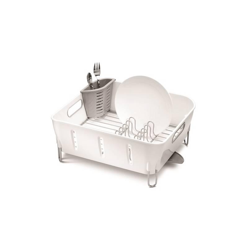 Odkvapkávač Simplehuman Compact (KT1104) strieborný/biely