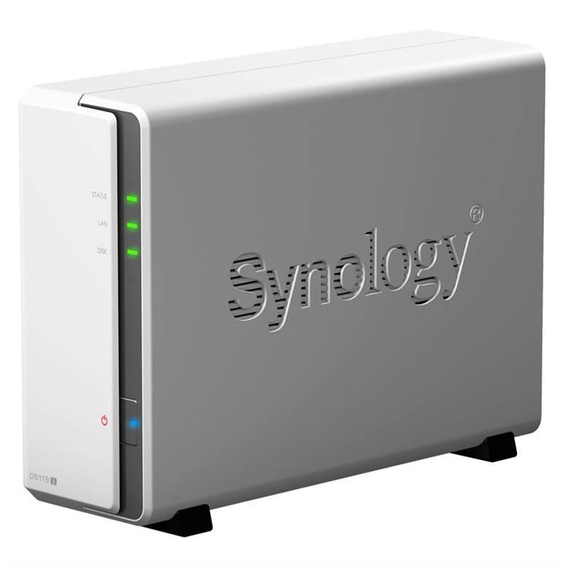 Datové uložiště (NAS) Synology DS119j (DS119j) bílý