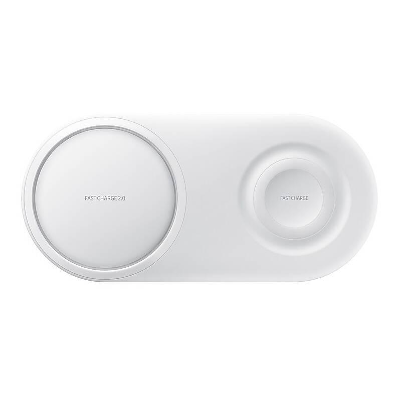 Bezdrôtová nabíjačka Samsung Duo Pad (EP-P5200TWEGWW) biela + Doprava zadarmo