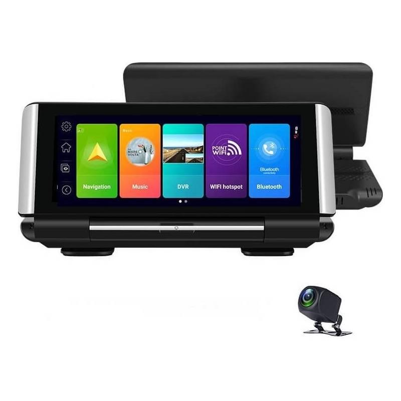 Navigačný systém GPS Carneo Combo A9600 + kamera do auta čierna + Doprava zadarmo