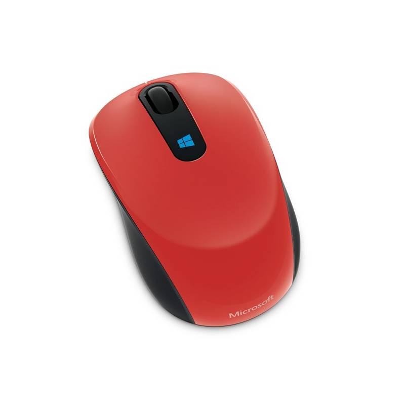 Myš Microsoft Sculpt Mobile (43U-00026) červená