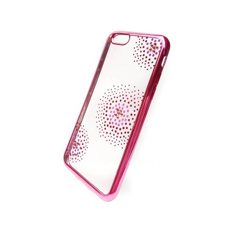 Kryt na mobil Beeyo Flower Dots pro Apple iPhone 6/6s (BEAAPIP6TPUFLPI) ružový