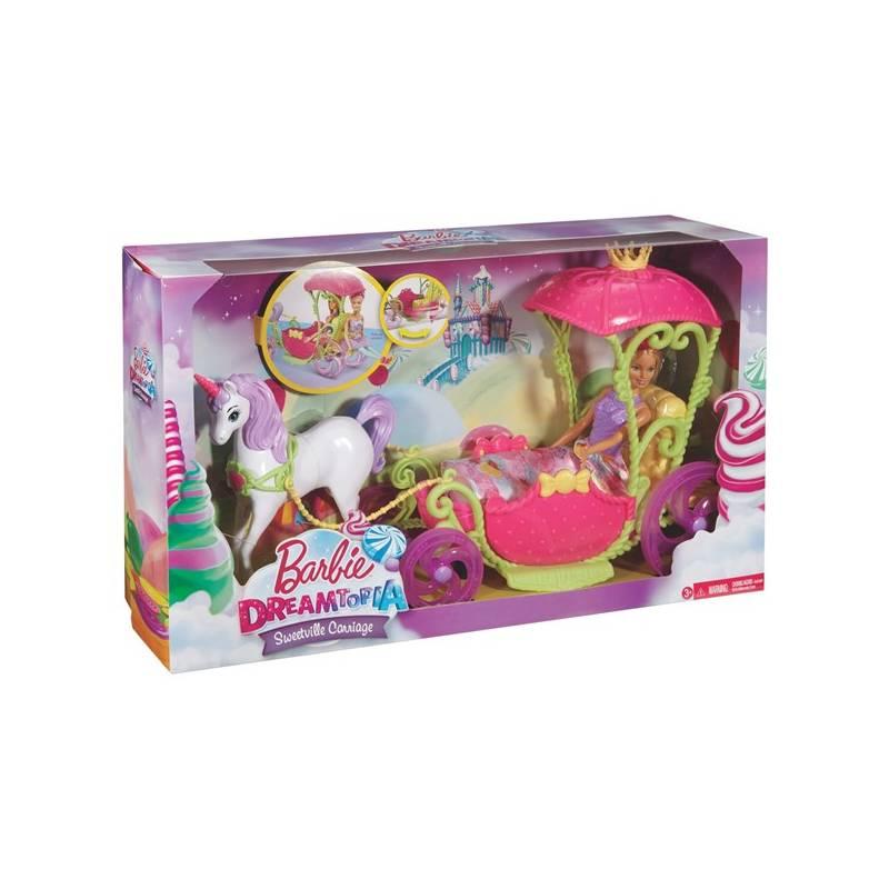 Barbie Mattel kočár ze sladkého království