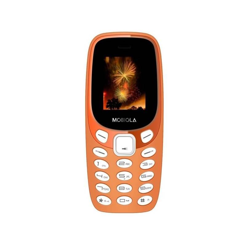 Mobilný telefón Mobiola MB3000 (MB3000CZO) oranžový