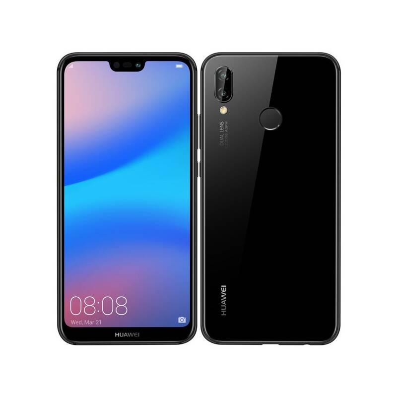 Mobilný telefón Huawei P20 lite (SP-P20LDSBOM) čierny Software F-Secure SAFE, 3 zařízení / 6 měsíců (zdarma)Fitness náramek Huawei Color Band A2 - černé (zdarma) + Doprava zadarmo