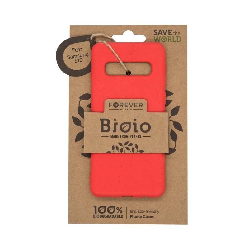 Kryt na mobil Forever Bioio na Samsung Galaxy S10 (HOUSAS10BIORE) červený