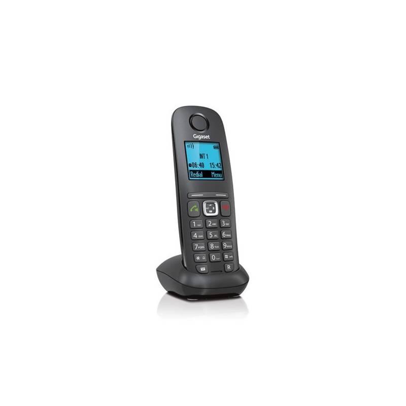 Domáci telefón Siemens Gigaset A540H (S30852-H2651-R601) čierny