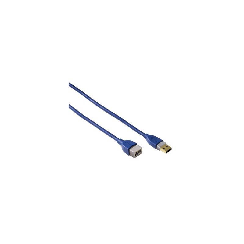 Kábel Hama USB 3.0, 2m, prodlužovací (39674) modrý