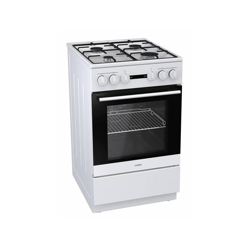 Kombinovaný šporák Mora Premium K 110 BW biely