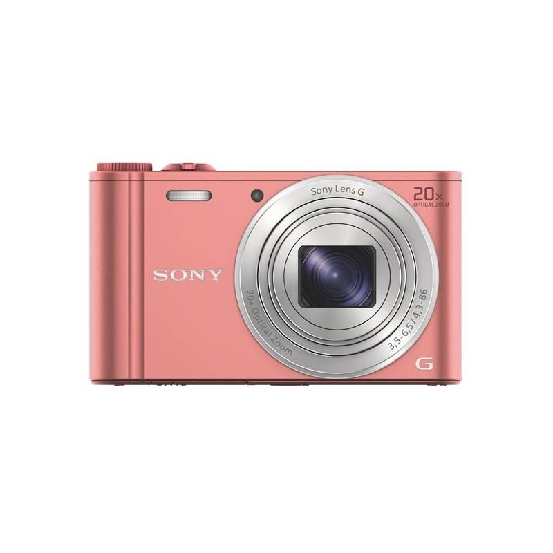 Digitálny fotoaparát Sony Cyber-shot DSC-WX220 ružový