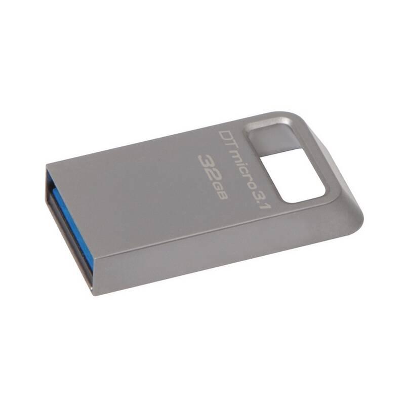 USB flash disk Kingston DataTraveler Micro 3.1 32GB (DTMC3/32GB) kovový