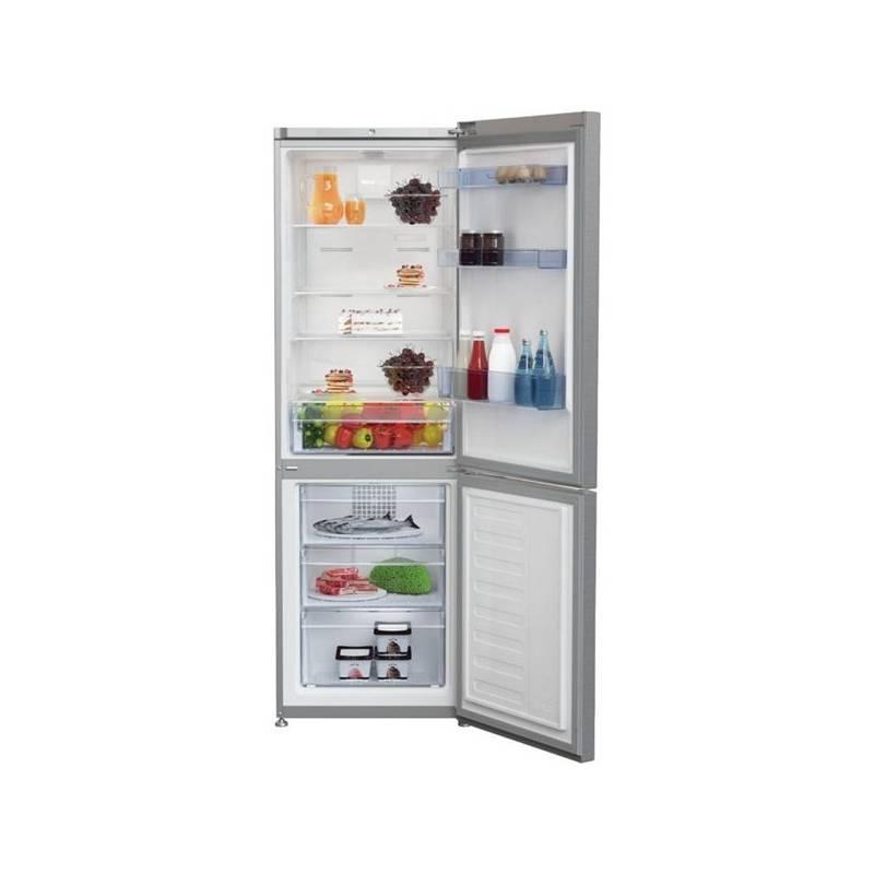 Kombinácia chladničky s mrazničkou Beko RCNA 365 E40X nerez + Doprava zadarmo