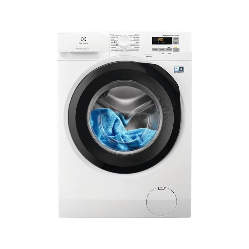 Automatická práčka Electrolux EW6F528SC biela Čistič oken ETA Aquarelo 0262 90000 (zdarma) + Doprava zadarmo