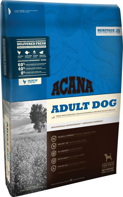 Granuly Acana Dog Heritage Adult Dog 17 kg