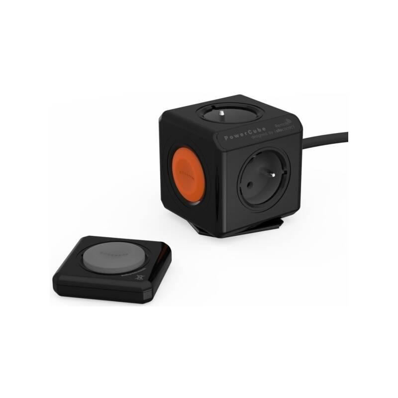 Kábel predlžovací Powercube Extended Remote Set, 4x zásuvka, 1,5m čierna