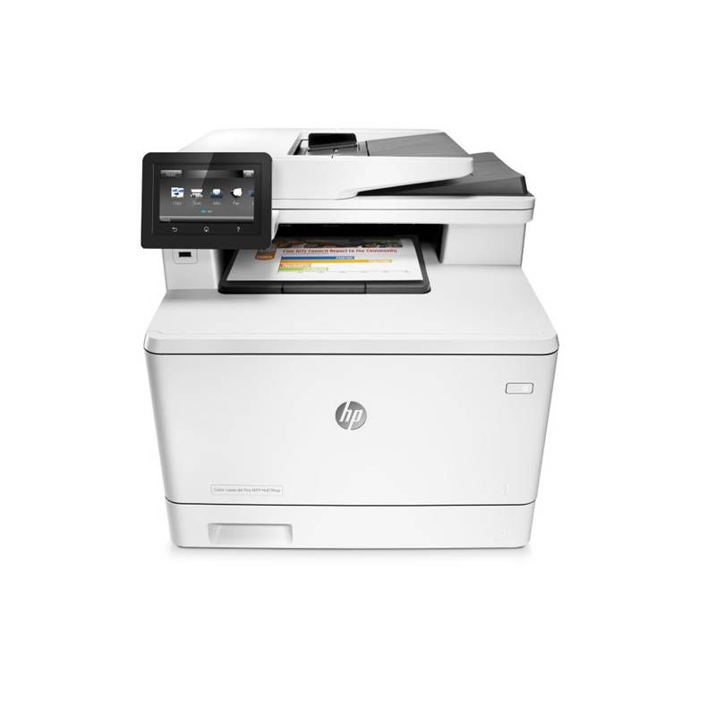 Tlačiareň multifunkčná HP LaserJet Pro MFP M477fdw (CF379A) biela + Doprava zadarmo