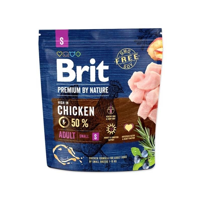 Granule Brit Premium Dog by Nature Adult S 1 kg