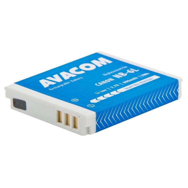 Batéria Avacom Canon NB-6L Li-Ion 3,7V 800mAh (DICA-NB6L-532)