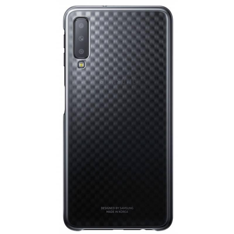 Kryt na mobil Samsung Gradation cover pro A7 (2018) (EF-AA750CBEGWW) černý