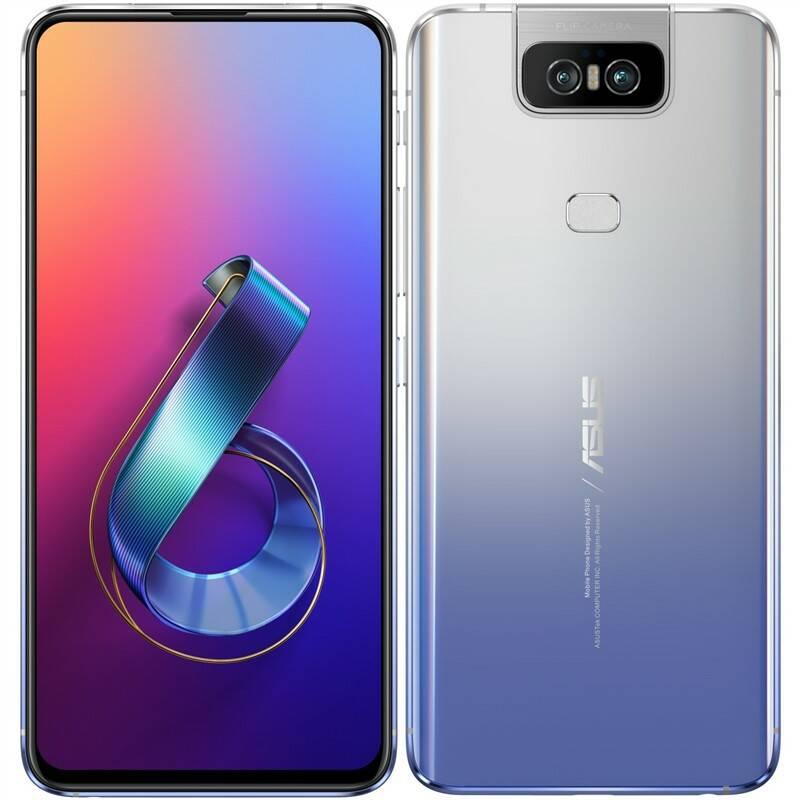 Mobilní telefon Asus ZenFone 6 64 GB Dual SIM (ZS630KL-2J032EU) stříbrný