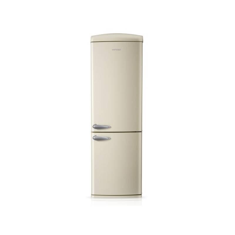 Kombinácia chladničky s mrazničkou Concept LKR7360cr krémová + dodatočná zľava 10 % + Doprava zadarmo