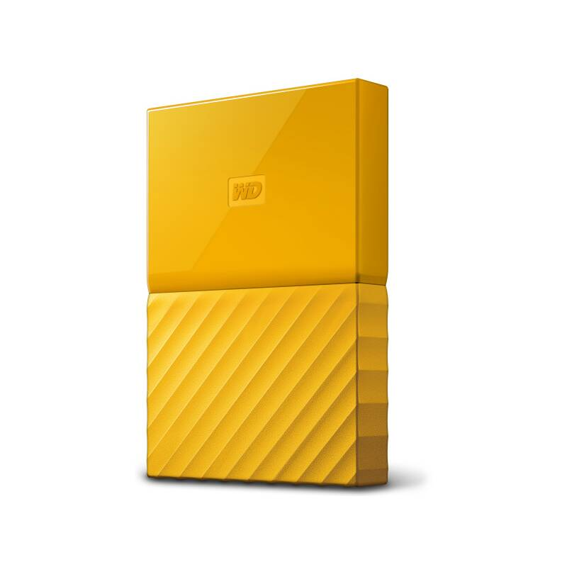 "Externí pevný disk 2,5"" Western Digital My Passport 1TB (WDBYNN0010BYL-WESN) žlutý"