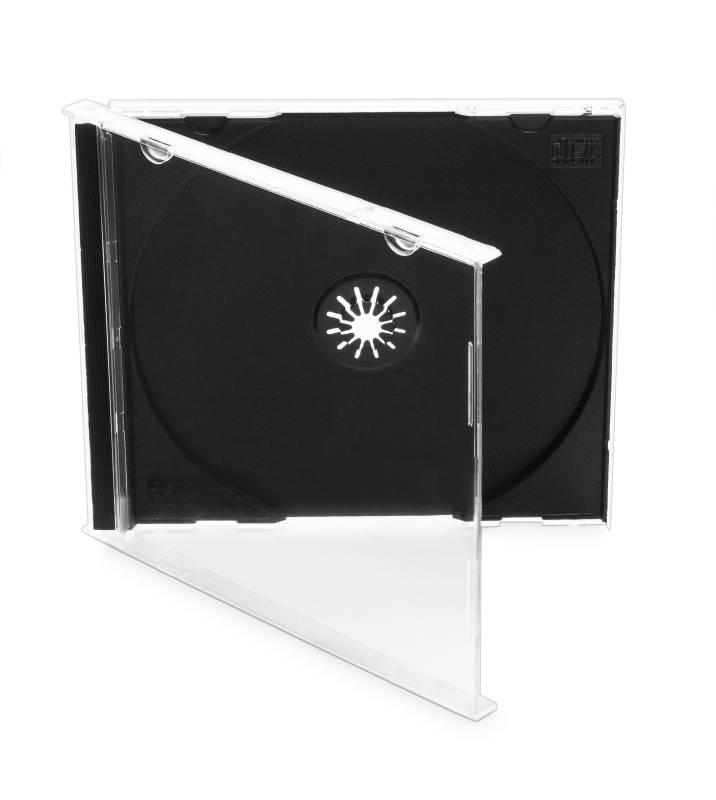 Box na CD/DVD OEM CD BOX1 čierny