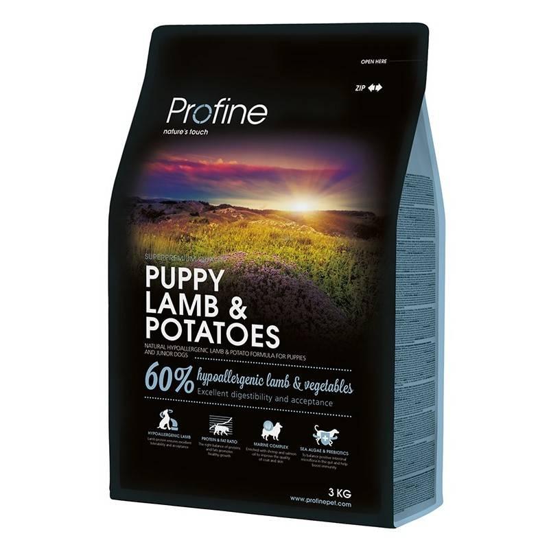 Granule PROFINE Puppy Lamb & Potatoes 3kg