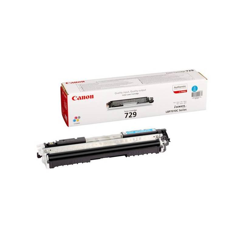 Toner Canon CRG-729C, 1000 stran - originální (4369B002) modrý + Doprava zadarmo